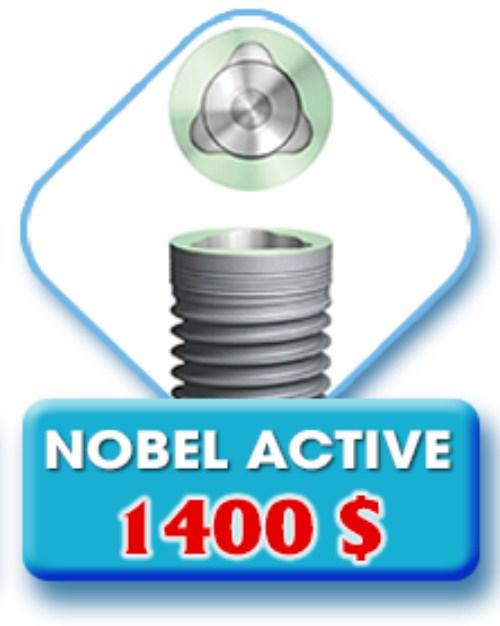 Implant Nobel Active lên răng liền 4