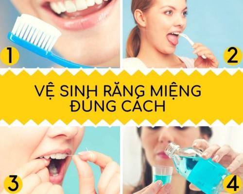 hướng dẫn cách chăm sóc răng miệng