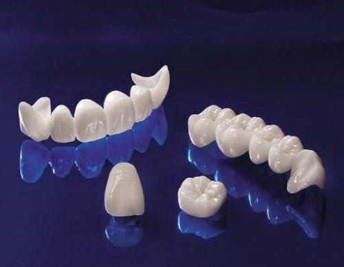 Cấu tạo của răng toàn sứ zirconia