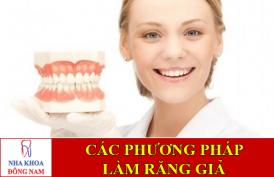 các phương pháp làm răng giả -1