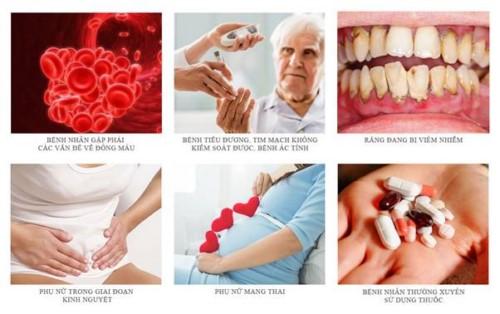chống chỉ định nhổ răng