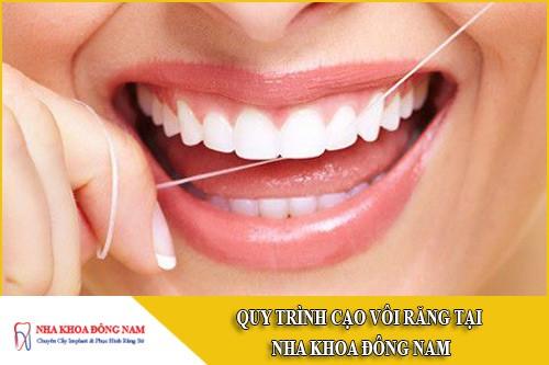 quy trình cạo vôi răng đạt chuẩn hiện nay