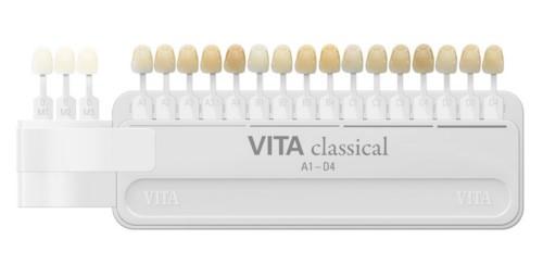 bảng so màu răng vita classic
