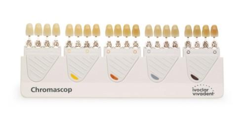 bảng so màu răng Chromascop