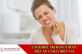 cách điều trị răng ê buốt hiệu quả nhất hiện nay