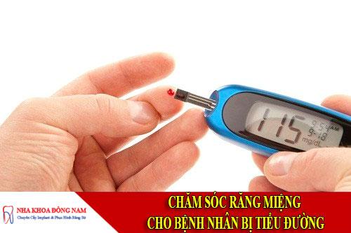 chăm sóc răng miệng cho bệnh nhân bị tiểu đường