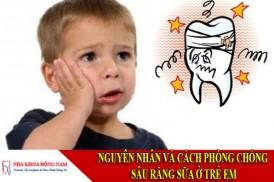 nguyên nhân và cách phòng chống sâu răng sữa ở trẻ em