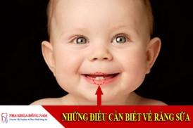 Những điều cần biết về răng sữa