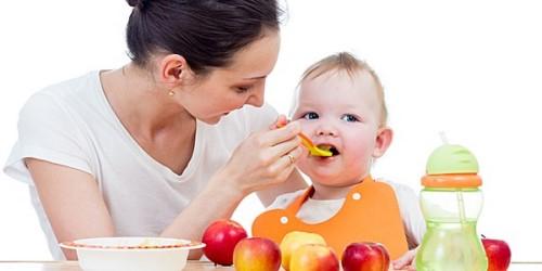 chế độ dinh dưỡng cho bé