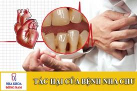 tác hại của bệnh nha chu