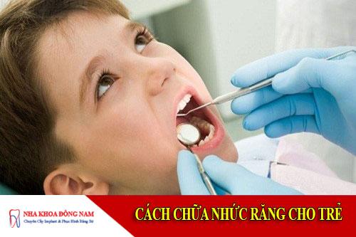cách chữa nhức răng cho trẻ