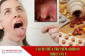 cách chữa trị viêm amidan theo tây y