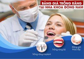 Trồng răng giả giá bao nhiêu tiền tại TPHCM?