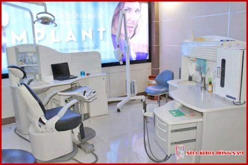 phòng cấy ghép implant tại nha khoa đông nam