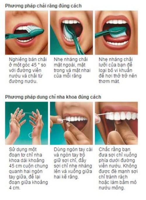 phương pháp chăm sóc răng miệng đúng cách 3