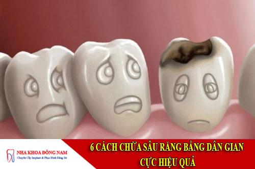 cách chữa sâu răng bằng dân gian cực hiệu quả