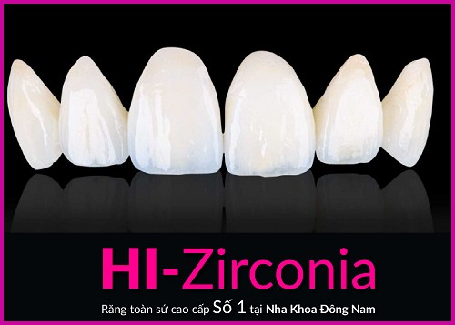 nha khoa đông nam ra mắt răng toàn sứ cao cấp hi–zirconia 1