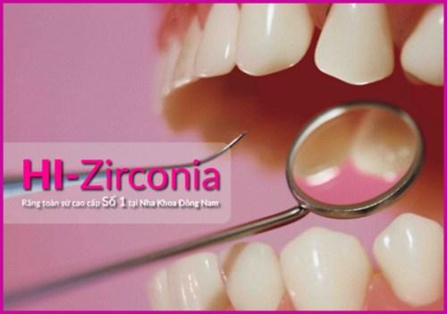 nha khoa đông nam ra mắt răng toàn sứ cao cấp hi–zirconia 2