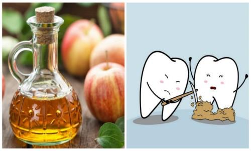 tác dụng của giấm trong việc lấy cao răng