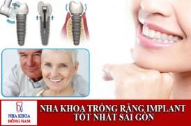 nha khoa trồng răng implant tốt nhất sài gòn