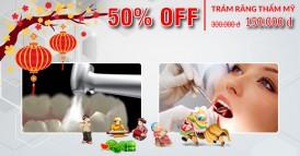 Nha khoa Đông Nam Khuyến mãi 50% dịch vụ trám răng