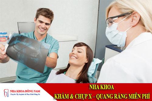 nha khoa khám và chụp x – quang răng miễn phí