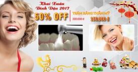 Nha khoa Đông Nam giảm 50% dịch vụ trám răng