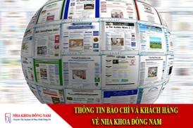 thông tin báo chí và khách hàng về nha khoa đông nam
