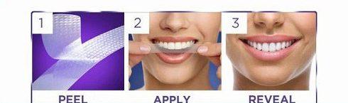 Cách dùng miếng dán tẩy trắng răng tại nhà 3