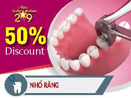 Nhổ răng nha khoa Đông Nam khuyến mãi quốc khánh 2-9