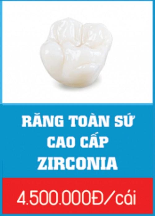 Răng sứ cercon và răng sứ zirconia giống nhau hay khác nhau 4