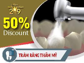 Trám răng nha khoa Đông Nam khuyến mãi quốc khánh 2-9