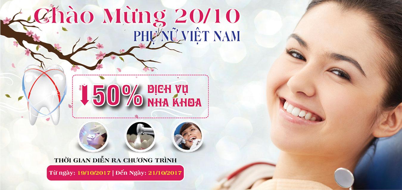 Chương trình khuyến mãi nhân ngày phụ nữ Việt Nam