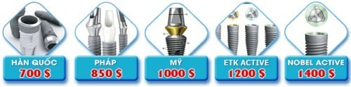 các loại implant