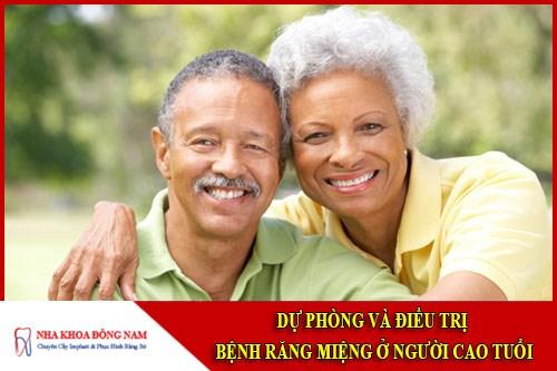 Điều trị bệnh răng miệng ở người cao tuổi
