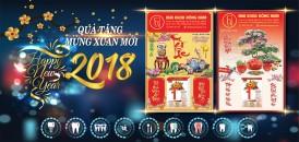 Quà tặng mừng xuân mới 2018 từ Nha Khoa Đông Nam