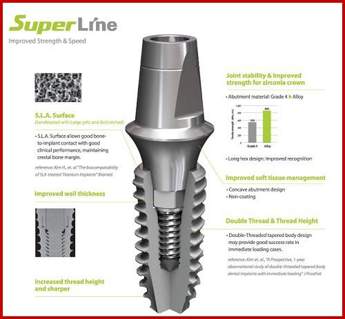 Sự khác biệt của các loại trụ Implant 6