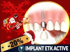 Khuyến mãi Noel 2017 và tết tây 2018 dịch vụ Cấy ghép Implant