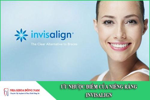 ưu nhược điểm của niềng răng invisalign