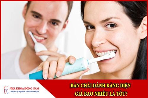 Bàn chải đánh răng điện giá bao nhiêu