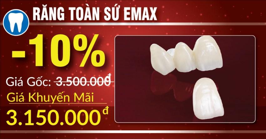 khuyến mãi phục hình răng sứ thẩm mỹ nhân dịp 30/04 5