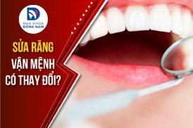 sửa răng vận mệnh có thay đổi