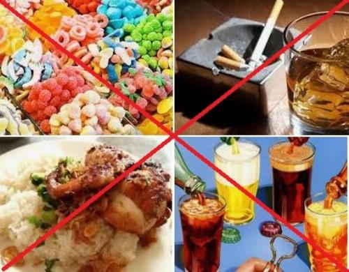 không nên ăn gì khi làm cầu sứ