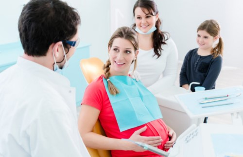 khám răng định kỳ khi mang thai