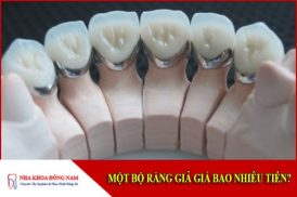 một bộ răng giả bao nhiêu tiền