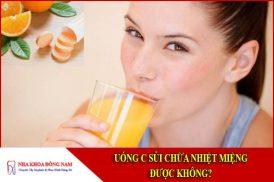 uống c sủi chữa nhiệt miệng được không
