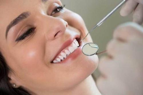 quy trình trám răng nhai