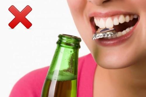 nguyên nhân gây gãy răng