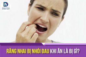 răng nhai bị nhói đau khi ăn