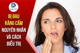 bị đau răng cấm phải làm sao
